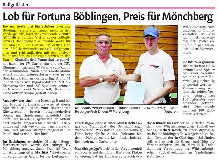 Lob Fortuna 2014